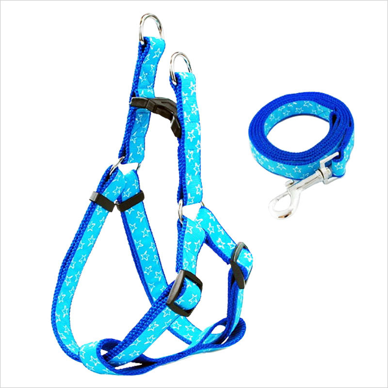 Quality durable dog harness collar combination