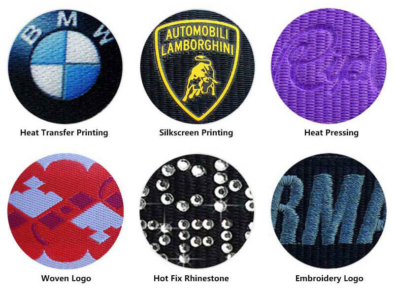 badage reel lanyard logo printing process
