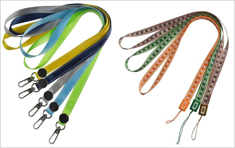 colored lanyards