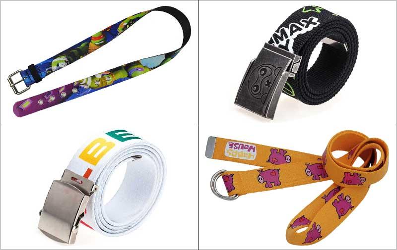 custom Logo belts