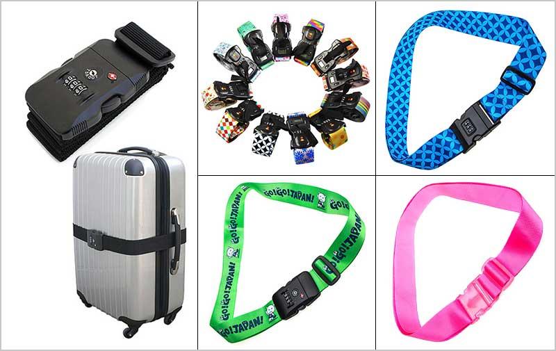 customized luggage strap