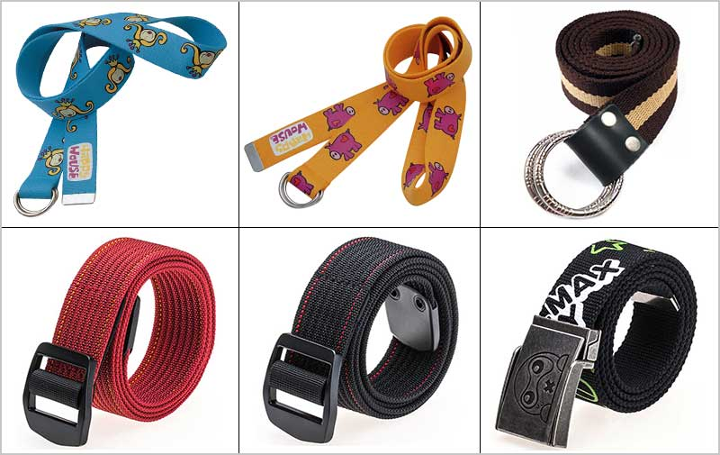 order canvas belt