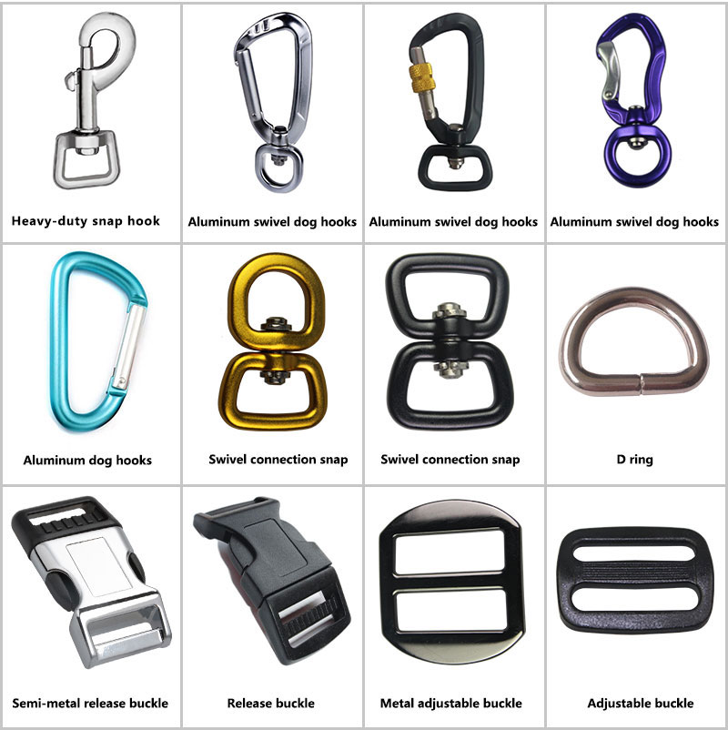 dog collar common attachments