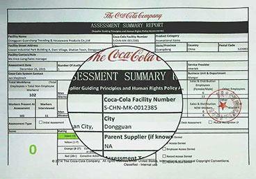 Wholesale Custom Printed Lanyards Coca-Cola Facility