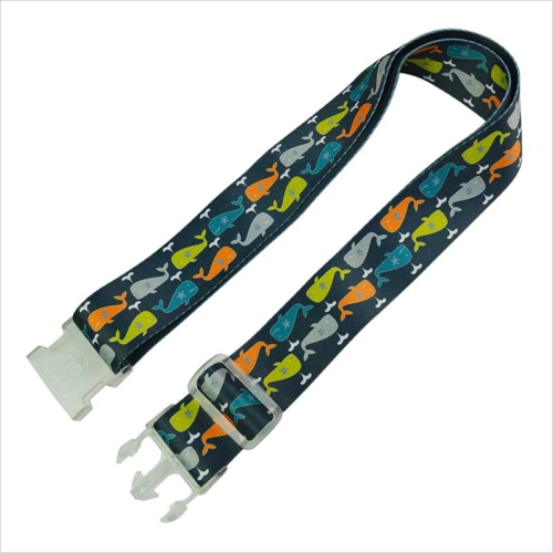 custom luggage straps