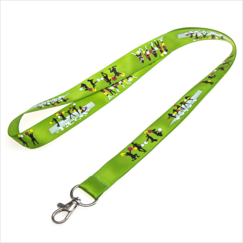 personalized satin lanyards