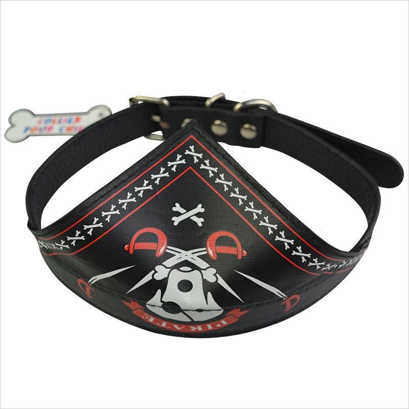 Black Bandana Cat Collar