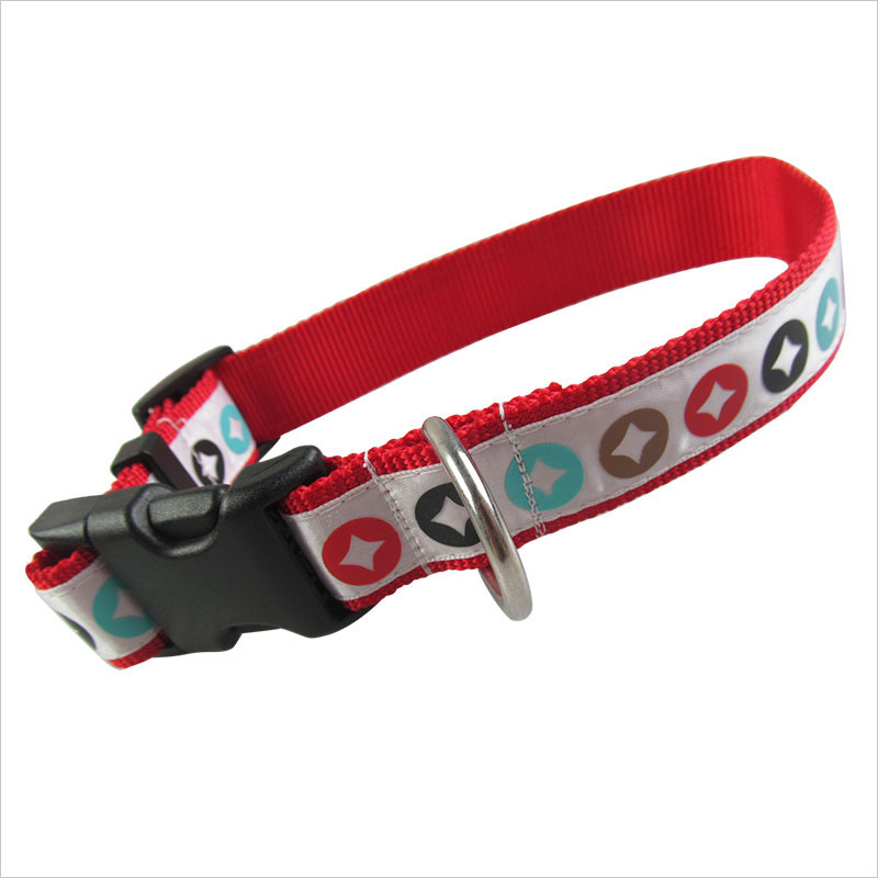Flat Fabric Dog Collar