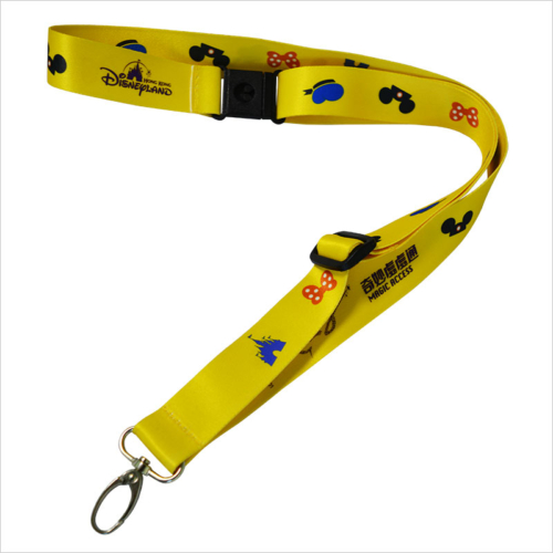 High quality safety breakaway disney world lanyards