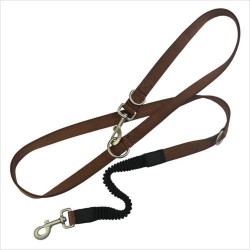 elastic dog leash