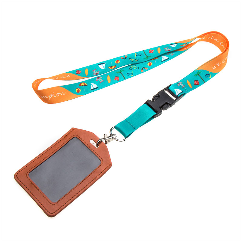 Wholesales Custom nylon lanyards for id badges