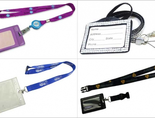 Personalization Options For Badge Holder Lanyards