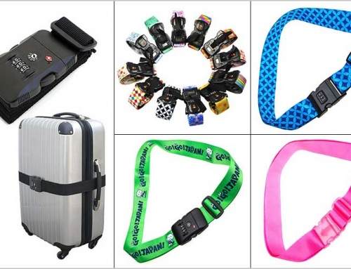 Choose a customized luggage strap for your holiday travel